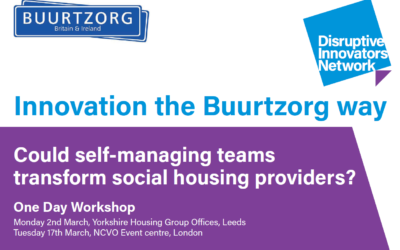 Could self-managing teams transform social housing providers? – Leeds Workshop