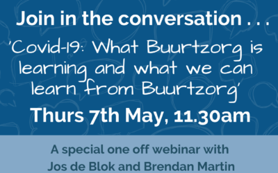 Webinar: Covid-19: What Buurtzorg is learning and what we can learn from Buurtzorg